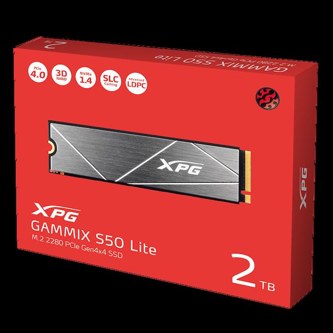 威刚发布Gammix S50 Lite:面向笔记本电脑的PCIe 4.0 NVMe SSD