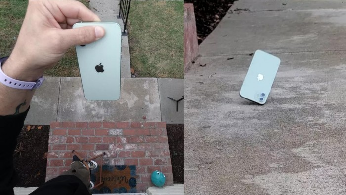 """iPhone 12划痕/跌落测试:""""陶瓷护盾""""确实够护盾"""