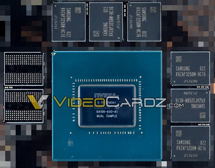 支持12GB显存的英伟达RTX 3060 GA106 Ampere GPU曝光