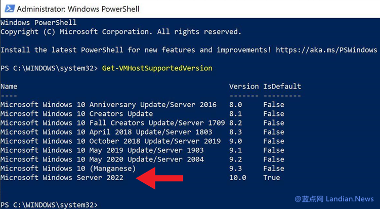 微软将在2021年秋准备Windows 10 LTSC 2022 / Windows Server 2022版