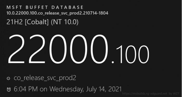 [图]Windows 11 Build 22000.100发布:任务栏整合Teams聊天功能等